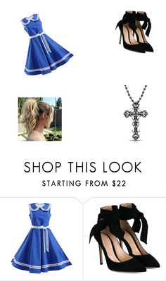 """""""Sierra's everyday outfit"""" by lizzie12304 on Polyvore featuring Gianvito Rossi and Victoria Kay"""