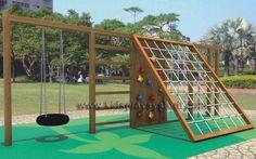Children Wooden Play System