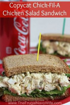 Copycat Chick-Fil-A Chicken Salad Sandwich - The Frugal Navy Wife