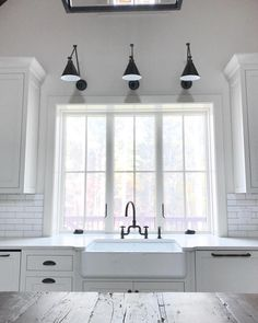Here are the Best Ideas For Neutral Kitchen Design Ideas. This article about Best Ideas For Neutral Kitchen Design Ideas was posted under the Kitchen category by our team at September 2019 at pm. Hope you enjoy it . Window Over Sink, Kitchen Sink Window, Best Kitchen Sinks, Island Kitchen, Kitchen Backsplash, Over Sink Lighting, Kitchen Lighting, Task Lighting, Lighting Ideas