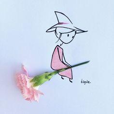 Non smettere mai di sognare, solo chi sogna può volare. #virginiasdraws