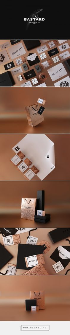 BASTARD Men's Fashion and Accessories Branding and Packaging by Miguel Basurto | Fivestar Branding Agency – Design and Branding Agency & Curated Inspiration Gallery