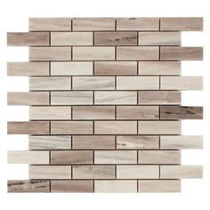 Golden Valley Brick Marble Mosaic - 12in. x 12in. - 100104900   Floor and Decor