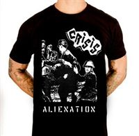 CRISIS Alienation official shirt  #goth #gothic #punk #punkrock #rockabilly #psychobilly #pinup #inked #alternative #alternativefashion #fashion #altstyle #altfashion #clothing #clothes #vintage #noir #infectiousthreads #horrorpunk #horror #steampunk #zombies #burningmanclothing #shrine clothing