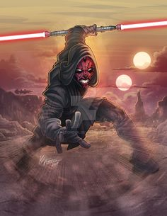 Darth Maul Discover Darth Maul by kpetchock on DeviantArt Dark Maul, Star Wars Sith, Clone Wars, Star Trek, Jedi Sith, Sith Lord, Star Wars Facts, Star Wars Wallpaper, Darth Maul Wallpaper
