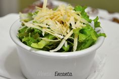 Aqui em casa a salada preferida é Ceaser Salad.