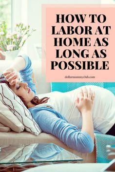 Laboring at home #labortips #labor | pregnancy tips
