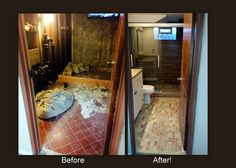 A beautiful bathroom remodel done by Mister Fix-it!
