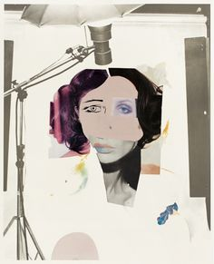 The lithograph 'Fashion Plate (Cosmetic Study IX)' by British artist and Turner Prize winner Richard Hamilton is estimated at to - and is likely to give you much joy, even after Christmas. Richard Hamilton Pop Art, Turner Prize, Cultura Pop, Fashion Plates, Auction, Cosmetics, Anime, Painting, Beautiful