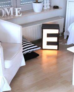 DIY: letter light