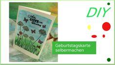 Tutorial: Karte zum Geburtstag mit Gelatos einfach selbermachen - cardmaking  [deutsch]