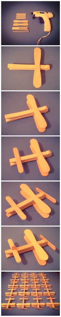 """Airplane Favors for """"Time Flies"""" theme for my son's 1st birthday party (still need to paint them then all done!)"""