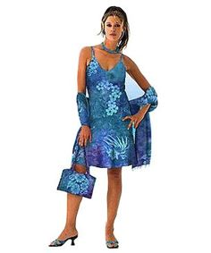 0ec2cc05d9ce Dance Floor Dream Short Hawaiian Slip Dress at Tropical Tantrum