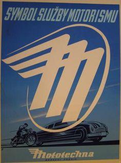 Mototechna logo via Motos Vintage, Vintage Motorcycles, Vintage Racing, Vintage Cars, Racing Quotes, Motorcycle Art, Car Posters, Car Logos, Race Cars