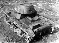 фото СССР ВОВ легкий танк Т-26-1 обр. 1939, СССР