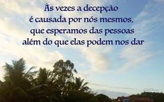 Frase & Imagem: Decepção