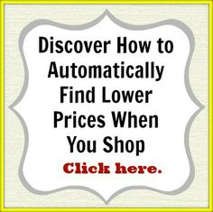 Discover how to Automatically Find Lower Prices When You Shop. Click here >> http://www.moneysavingenthusiast.com/2014/05/29/bargain-deals-priceblink/ #deals #bargains