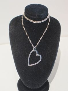 Sterling Silver Heart Necklace by Tay Silver - Sterling Silver - Jewellery - Categories