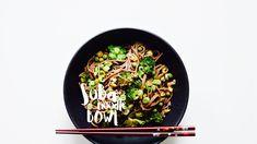 Soba nudle s brokolicí a hráškem Sugar Free Recipes, Raw Vegan, Vegetarian Recipes, Chill, Tasty, Food, Essen, Meals, Yemek