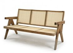 Pierre Jeanneret Le Corbusier Inventaire Mobilier Chandigarh - Éric Touchaleaume Pierre Jeanneret, Le Corbusier, Chandigarh, British Colonial, Furniture Inspiration, Furniture Collection, Outdoor Furniture, Outdoor Decor, Dining Bench