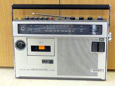 ラジオ・ラジカセミニ博物館・SONY・1