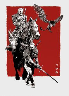 """Geralt"" by Michal Tarka"
