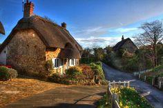 Isle of Wight - Godshill, UK.