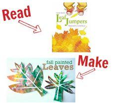 Preschool Story Book Craft - Fall