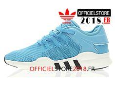 premium selection e97f6 dd8b2 Adidas Originals Homme Chaussures EQT Support ADV Primeknit 9317 Prix Pas  Cher Bleu Blanc