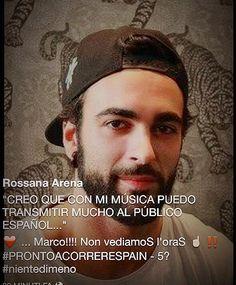 #PRONTOACORRERESPAIN @mengonimarco Musica