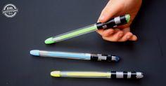 Star Wars Light Saber Pens - Kids Activities Blog