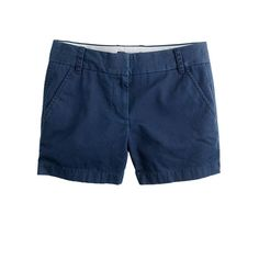 Something else I don't take off all summer - J. Crew chino shorts. They are the best!
