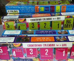 So Many Days! Cool countdown calendars for any occasion.