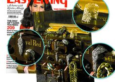Stella & Dot - Chantilly Lace Cuff as featured in Easyliving Magazine
