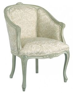 Louis J Solomon Louis XV Bergere Bedroom Chair, Bedroom Furniture, Early American Furniture, Chair Parts, French Country Furniture, Bergere Chair, Luxury Furniture, Side Chairs, Traditional Styles