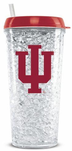 Indiana Hoosiers Crystal Freezer Tumbler