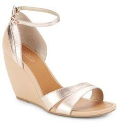 Seychelles Choice Leather Wedge Sandals