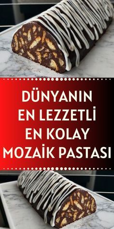 Lazy Cake, Easy Desserts, Dessert Recipes, Pasta Cake, Gourmet Cookies, Food Platters, Easy Family Meals, Turkish Recipes, Food And Drink