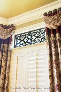 In August 2015, Samantha Day of Brandi Renee Designs submitted a winning photograph of Tableaux Faux Iron Designer Grilles in a transom window covering application to our #photographycontest. She is the recipient of a $15 #Starbucks gift card and a whole lot of praise. CONGRATULATIONS, Samantha! For more information about Tableaux Designer Grilles, faux wrought iron, and our custom designs for #homeinteriors please visit Tableaux.com now!