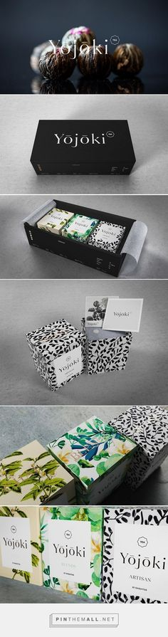 Yojoki Tea by Ariel di Lisio. Source: Daily Package Design Inspiration. Pin curated by #SFields99 #packaging #design