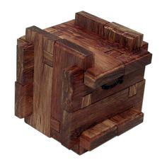 Dicey Box 12 piece wooden burr puzzle