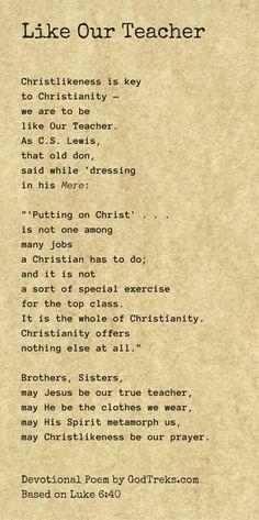 Luke 6:40 #JesusCharacter #Christlikeness