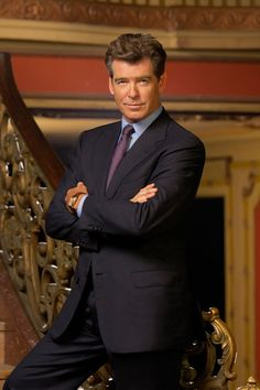 """Pierce Brosnan- * I met his """"look alike"""" in London by Buckingham Palace.. He ran across 4 lanes of traffic to hail me a taxi!  No wonder I love London!  I am sure the real Pierce is just as nice! ;)"""
