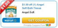 $1.00 off (1) Angel Soft Bath Tissue #coupon