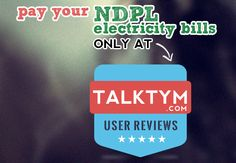NDPL Bill Payment - NDPL Bill Payment at Talktym.com is simple and easier with various payment options such as Credit Card, Debit Card, Internet Banking & Talktym e-Wallet. Talktym provides you loyalty points and exciting deals for every transaction. You can select the coupons of equal amount of bill payment. This makes your NDPL Online Bill Payment almost free of cost.  For more information please visit, https://www.talktym.com/ndpl-online-bill-payment.php