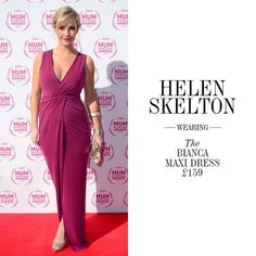 b6e78b3893 Helen Skelton blooming in the Bianca Maxi from Gorgeous Couture
