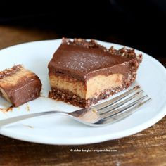 Salted Date Caramel, Chocolate Pie with Almond Coconut Crust. Vegan Glutenfree No Bake - Vegan Richa