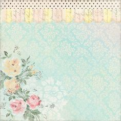 Melissa Frances - 5th Avenue Collection - 12 x 12 Paper - Flora at Scrapbook.com