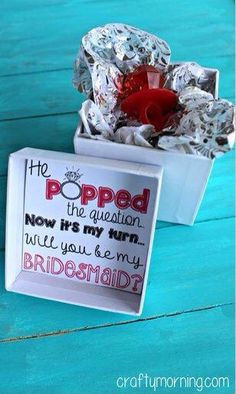 Bridesmaid Invitation Ideas #Relationships #Trusper #Tip