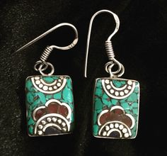 A personal favorite from my Etsy shop https://www.etsy.com/listing/287360991/tibetan-vintage-small-handmade-earrings
